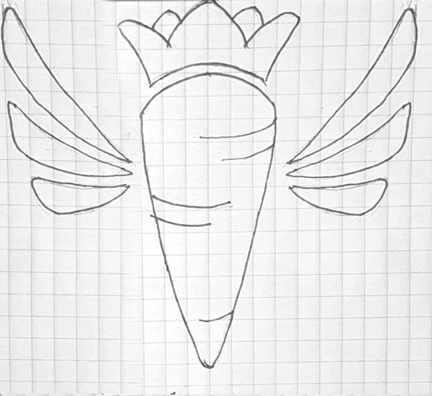 آموزش طراحی لوگو - اتود زدن